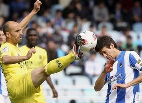 Ni Real Sociedad ni Villarreal sellan la salvación tras empatar en Anoeta (1-1)