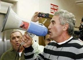 El secretario general del SAT, Diego Cañamero, queda en libertad con cargos