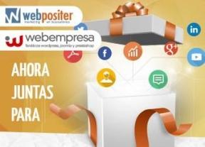 Webempresa y Webpositer sellan un acuerdo para potenciar proyectos Web