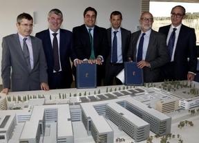 Se firma el contrato para retomar las obras del nuevo hospital de Toledo