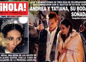Tatiana y Andrea se casan en una boda de ensue�o (para envidia de unas cuantas)