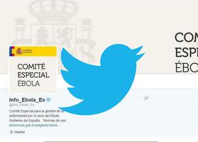 El comité de gestión del ébola estrena cuenta en Twitter con más de 3.000 seguidores y 0 'tuits'