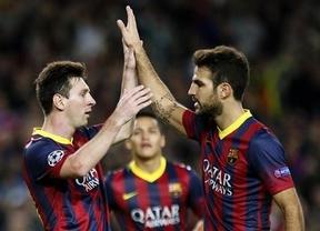 Messi vuelve cuando más falta hacía, estoquea al Milan y despeja el camino de un Barça irregular (3-1)