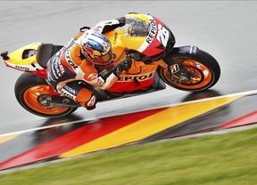 El español Dani Pedrosa logra en Alemania su primera victoria de la temporada