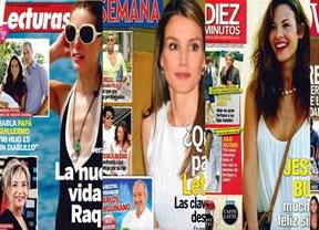 Las nuevas vidas de Raquel Sánchez Silva y Jessica Bueno, en las revistas del corazón