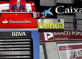 La banca gana el 28,6 % menos hasta marzo por ausencia de extraordinarios