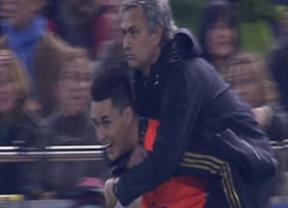 Callejón se sube a las barbas de Mourinho: