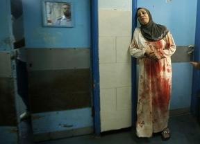 El horror de Gaza sigue engordando las cifras de la vergüenza: 715 muertos y 4.550 heridos palestinos