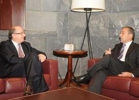 Rivero se reúne con el presidente de Repsol