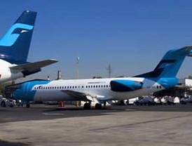 Mexicana entregará nueve aviones a Bancomext por adeudo