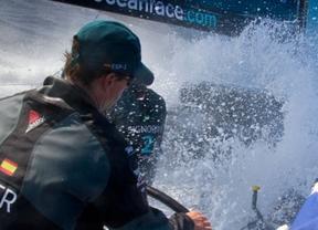 El barco de Nueva Zelanda arrebata el liderato provisional al Telefónica en una muy reñida 'Volvo Ocean Race'