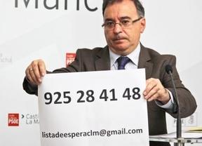 El PSOE propone nuevos plazos de garantías sanitarias para reducir listas de espera en Castilla-La Mancha