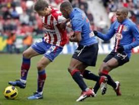 Sigue la mala racha para el Atlético, ahora el Sporting lo vence 1-0