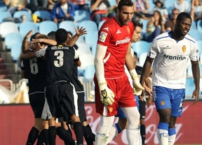 El efecto 'Champions' también dispara al Málaga en la Liga: gana a domicilio al Zaragoza (0-1)