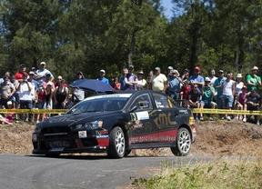 La Mitsubishi Evo Cup se estrena en el Rally del Bierzo