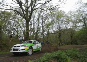 Los abandonos debido a la gran dureza de la prueba marcaron el Rallye Concello de Curtis, tercera cita de la temporada del nacional de tierra y la Evo Cup