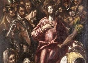 Una versión reducida de El Expolio nunca expuesta estará en el Museo del Greco hasta diciembre