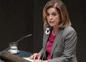 Ana Botella lo deja claro: no se modificará la tarifa fija al aeropuerto