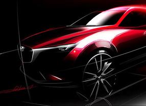 Mazda presentará el nuevo CX-3 en el Salón del Automóvil de Los Ángeles