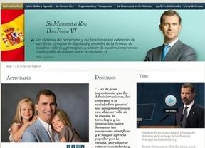 La web de la Casa Real se renueva con la llegada de Felipe VI