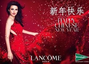 Penélope Cruz promociona el año nuevo chino en El Corte Inglés
