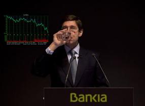 Bankia: la CNMV suspende su cotización tras publicarse en 'Expansión' que las acciones podrían valer 0,01 euros