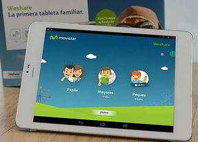 Telefónica lanza WeShare: la tableta pensada para toda la familia