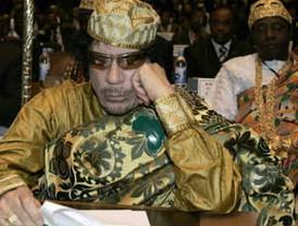 Gaddafi rechaza condiciones para tregua en Libia