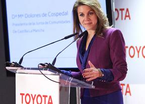 Cospedal ofrece a Toyota cualquier suelo para instalarse en Castilla-La Mancha