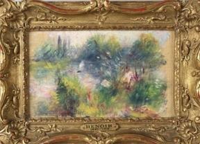 7 dólares por un 'Renoir' en un mercadillo en Estados Unidos