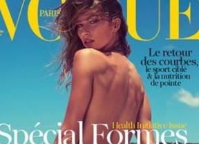 Gisele Bündchen se desnuda en 'Vogue'