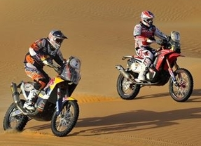 Dakar 2015: dominio español en motos con Barreda y Coma jugándose la victoria