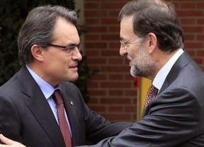 Rajoy cree que Artur Mas está haciendo el