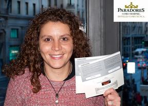 Vanesa Rojas Rodríguez, ganadora en marzo de las dos noches en Paradores que sortea Ociocrítico con motivo de su décimo aniversario