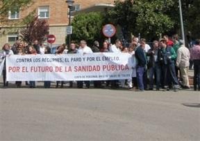 Los trabajadores del hospital de Toledo