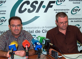 Ramón Caballero  (i) y Rafael Labrador (d)