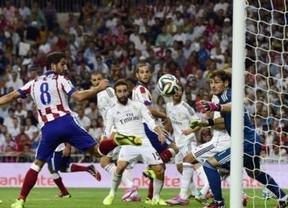 El Atleti planta cara al Madrid y le saca en el Bernabéu un empate esperanzador para la vuelta (1-1)