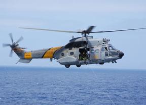 Letal accidente de un helicóptero militar en Fuerteventura que deja 4 desaparecidos en el mar