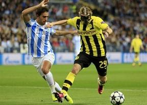 Málaga y Dormund dejan la eliminatoria para Alemania (0-0)
