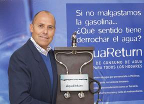 Alfonso Cuervo-Arango y 'Aqua-Return', el 'invento' para ahorrar agua en casa