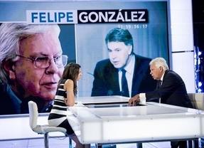 Felipe González insiste en alimentar el espíritu de la gran coalición PP-PSOE por encima de los deseos de Ferraz