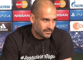 La UEFA sanciona a Guardiola por pedir solidaridad con un periodista asesinado en Brasil