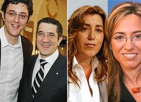 El cuarteto renovador que aspira a liderar el PSOE y ganar las próximas elecciones: Chacón, Patxi López, Susana Díaz y Madina