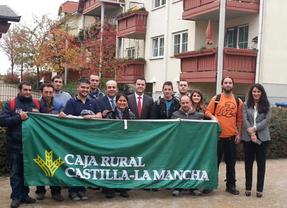Caja Rural de Castilla-La Mancha se hace cargo de financiar a los jóvenes desplazados a Érfurt