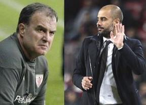 La prensa madrileña habla de un hipotético relevo de Bielsa por Guardiola