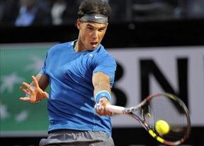 Nadal, en octavos de Roma tras derrotar a Gilles Simon en un largo partido