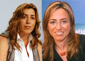 Poder femenino para el socialismo español: Susana Díaz y Carme Chacón, favoritas para liderar el PSOE