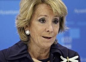 Aguirre no consigue privatizar el agua madrileña... ¡pero por la crisis!