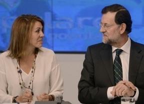 Todos con Cospedal: Rajoy, 5 ministros y la cúpula del PP la acompañan esta mañana en un acto en Madrid
