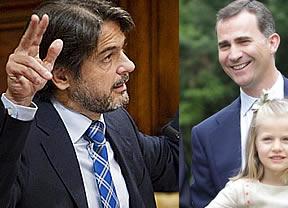 Involucran al Príncipe en una línea contraria al Rey, a favor de la creación del Estado catalán
